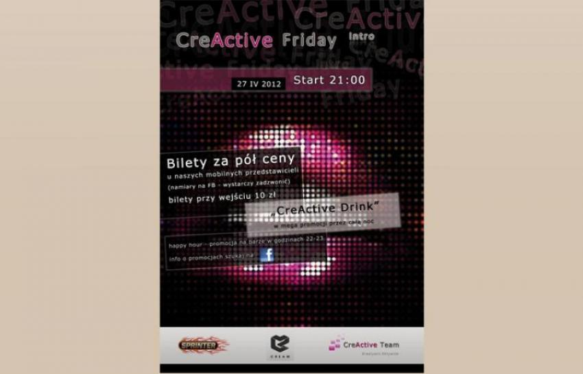 Plakat CreActive Friday